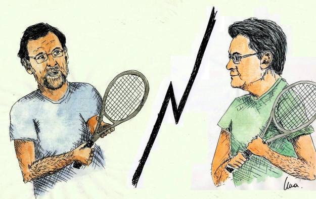 Match ball entre Mas y Rajoy